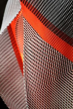 Issey Miyake. 2013. Spring Summer 2013 Collection (Fabric Detail)
