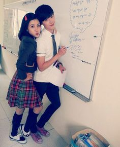 Lee Bo Young and Lee Jong Suk transform into high school students ~ Latest K-pop News - K-pop News | Daily K Pop News