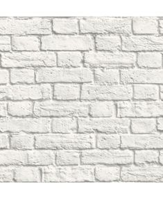 White-washed painted brick effect wallpaper. A contemporary design which would look good as a feature in any room and also coordinates with Britain in Frame