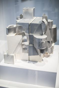 Frank gehry, centre pompidou,Frederick R. Weisman Art and teaching Museum , maquette,©catherinevernet