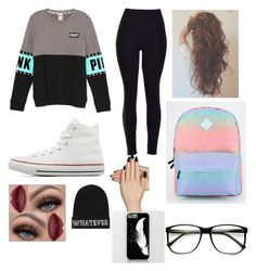 """""""Untitled #8"""" by lets-run-to-the-sea on Polyvore featuring beauty, Converse, Vans, Local Heroes and Static Nails"""