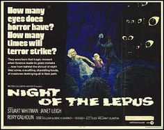 Night of the Lepus B-Horror  In my top 5 of B horror movies-mbr