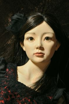 Art BJD AyakaTsuji Doll    辻彩香の球体関節人形ギャラリー Some of these dolls, like this one, look so alive! Wow!