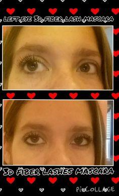 The power of Younique fibre lashes Fibre Lashes, Fiber Lash Mascara, Younique, 3d
