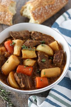 Parnsips- A classic beef stew recipe, made even better with parsnips ...