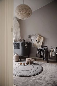 In collaboration with You are so often asked about the viscose mat in Minis' room, and it comes from Confident Living. Baby Boy Rooms, Baby Bedroom, Kids Bedroom, Baby Room Design, Baby Room Decor, Room Interior, Interior Design, Deco Kids, Nursery Inspiration