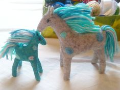 Unique Gifts For Boys, Presents For Boys, Gifts For Kids, Felt Gifts, Stuffed Horse, Stuffed Animals, Baby Horses, Natural Toys, Waldorf Toys