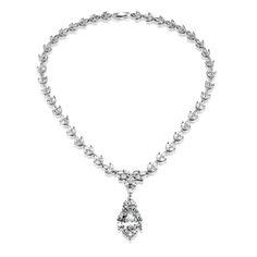 Moderní stříbrný náhrdelník Gio Caratti Venezia se zirkony SHF1011 Diamond, Silver, Jewelry, Jewlery, Jewerly, Schmuck, Diamonds, Jewels, Jewelery