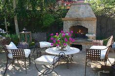 Backyard gathering place.