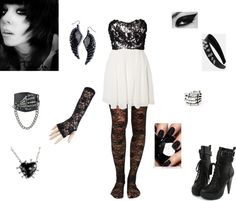 """Prom Night"" by walkingdeadnerd ❤ liked on Polyvore"