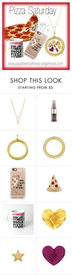 """Pizza Saturday"" by paulette-matthews on Polyvore featuring Casetify"