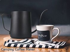 Camping Coffee Maker - wonderful choice. Must view...