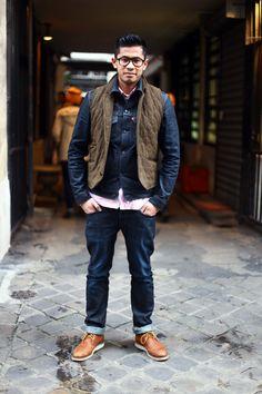 Mens Paris Street Style   Men's Look