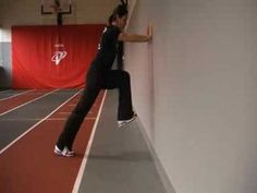 Wall Drills for Explosive Acceleration