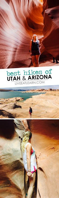 47 pictures from hiking out west, including Zion National Park, Bryce Canyon, Grand-Staircase Escalante, and Page, Arizona! // Live Eat Learn