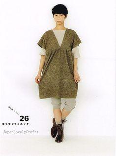 Apron & Apron Dress by Yoshiko Tsukiori - Straight Stitch Sewing - Japanese Pattern Book for Women Clothing - B1299-61   Flickr - Photo Sharing!
