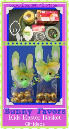 Kids Easter Basket Gift Ideas: Bunny Favors
