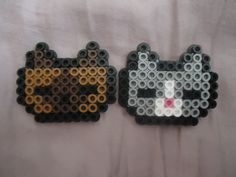Kitties by PerlerHime on deviantART