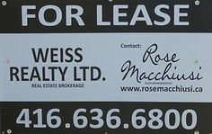 Office Space For Lease Dufferin and Rogers.  Weiss Realty Ltd