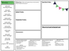 Lesson Plan Template  Middle School Chorus  Lesson Plan