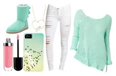 """Untitled #373"" by niallerzprincess0529 ❤ liked on Polyvore featuring Frame Denim, By Philippe and UGG Australia"