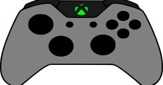 Xbox One Controller Clipart | Party: video game birthday ...Xbox Controller Silhouette Image Cricut