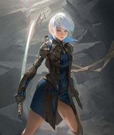 ArtStation - Dual blade , YOUNG IL CHOI