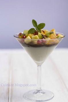 Cuinant: Postre de Yogur, Chocolate y Frutas