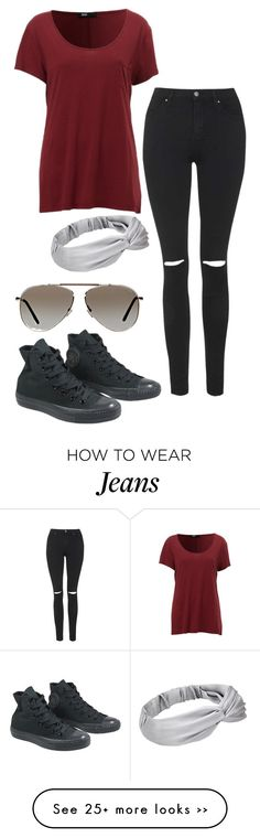 """94 degrees and I'm still wearing black skinny jeans"" by feeltheawkward on Polyvore"