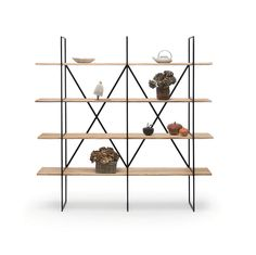 On the occasion of the last Maison et Objets fair in Paris, ZEUS has presented a new bookcase designed by Maurizio Peregalli. SLIM IRONY BOOKCASE is demountable and extensible: steel tube frame 15 x 15 mm, epoxy painted copper black colour. Shelves...