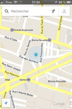 GOOGLE MAPS / MOTEUR DE RECHERCHE #1 présent dès le début sur la carte