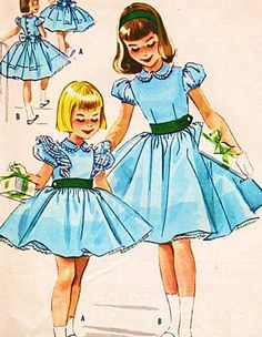 McCall's 4541 Girls One Piece Dress Sewing Pattern Vintage 1950s by McCall's, http://www.amazon.com/dp/B00CQZN5ZY/ref=cm_sw_r_pi_dp_KY2Srb0WYFG66