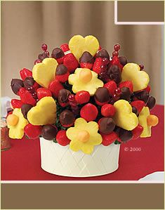 Enjoy sweet savings on our fresh fruit gifts! Here you can shop all our latest offers on select bouquets and chocolate dipped fruit from Edible Arrangements®. Fruit And Veg, Fresh Fruit, Frozen Fruit, Fruit Juice, Fruits Decoration, Decorations, Fruit Sticks, Food Bouquet, Chocolate Covered Fruit