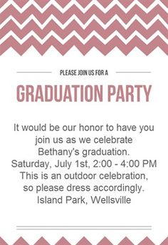 Free printable graduation party templates printable graduation in graduation party printable invitation customize add text and photos print for stopboris Image collections