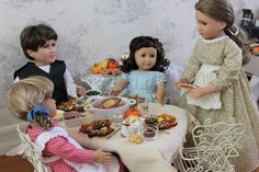 This website has TONS of tutorials for AG. There are a lot of furniture pieces like a dining table, bed, couch, etc. There are also a lot of polymer clay food items. All free tutorials.