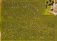 ABSOLUTELY 100% DOING THIS- THIS FALL!! CORN MAZE!!!
