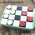 Altoids Tin Checkers Game
