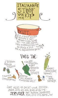 Italiaanse stoofkip