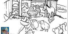 Max Lucado';s Itsy Bitsy Christmas FREE coloring pages
