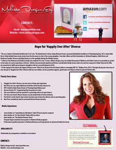 """My media one sheet promoting my book, """"Divorce the Drama!"""" and talking points on the subject O Daddy, Post Break Up, Talking Points, After Divorce, Co Parenting, Happily Ever After, Breakup, Kardashian, My Books"""