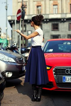inspiration for skirts in Fall-Winter.