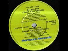 DJ Carl Cox - I Want You (Forever) (piano version)1991 LP:B2