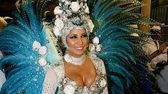 Patricia Nery - Rainha de Bateria da Escola de Samba  Portela RJ