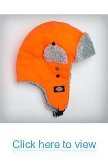 Dickies Orange Aviator Hat #Dickies #Orange #Aviator #Hat
