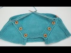 Deniz sweater section / Deniz baby sweater / Engelse ondertitel Baby Knitting Patterns, Knitting Designs, Knitted Baby Cardigan, Baby Vest, Fall Sweaters, Garter Stitch, Knit Crochet, Clothes, Youtube Baby