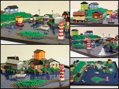 Maritime Fishing Village - Details by True Dimensions, via Flickr