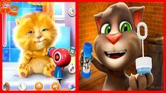 ✿Говорящий Кот Том и Котик Джинджер (Рыжик) часть 2 Детский игровой муль...