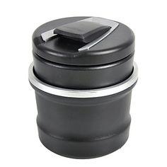 автомобиль черный пластик синий свет водить дым зола пепельница держатель чашки для бмв