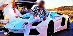 Mexican Drug Lord catch by posting pictures of himself with his car.