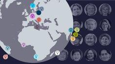 GRAFIK Her har kvinder haft magten Inden for de seneste 50 år har 52 lande i verden haft mindst en kvindelig, folkevalgt leder. Se på kortet, hvor.